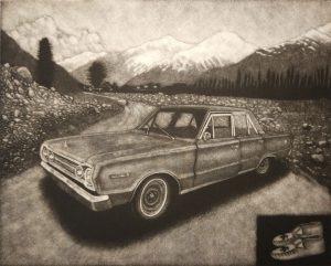 1966 Plymouth Mezzotint