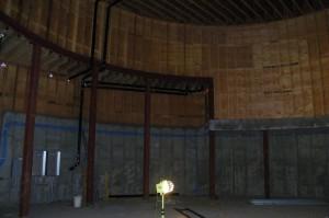 Haydn Planetarium Construction Interior