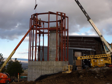 Haydn Observatory Construction Started