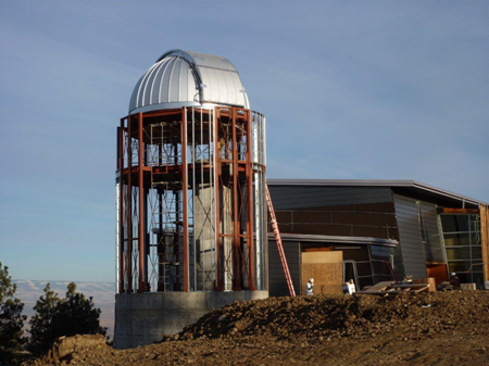 Residential Observatory Nearing Completion
