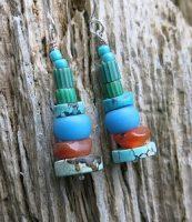 Aleut Sunset Earrings