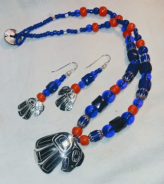 Nancy's Eagles and Trade Beads