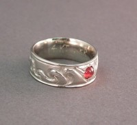 Photo of 14kt White Gold Our Story Wedding Ring
