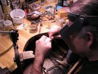Owen hand carving Sterling Bracelet