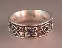 Sterling Silver Custom CTR Ring