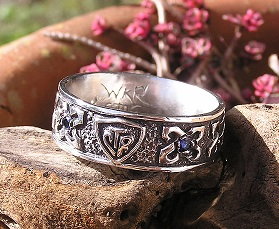 A Custom CTR Ring for our Celtic Friend