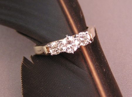 Taylor's Beautiful Cathedral Style Diamond Wedding Ring