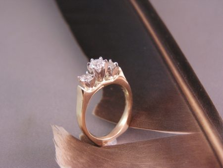 Cathedral Style Diamond Setting