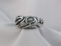 Photo of Wolf and Raven cast Sterling Ring