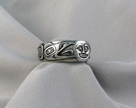Photo of Walker-Goldsmiths-Cast-Sterling-Raven&theSun-Ring-#313